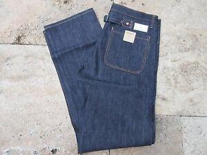 Freundschaftlich Quartermaster Naval Denim Jeans 30er Jahre Style 6-pocket Rockabilly Us Army Und Ein Langes Leben Haben.