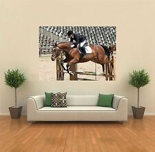 HORSE JUMPING SHOW JUMPING NEW GIANT POSTER WALL ART PRINT PICTURE G364