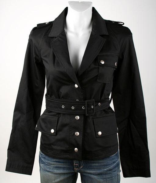 Patrizia Pepe  chaqueta 2s0347 negra talla 42 m  autorización oficial