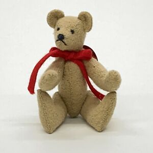 Bears-of-Lloyd-Miniature-Jointed-2-5-034-Teddy-Bear-By-Lisa-Loyd-Signed-Dated-1989