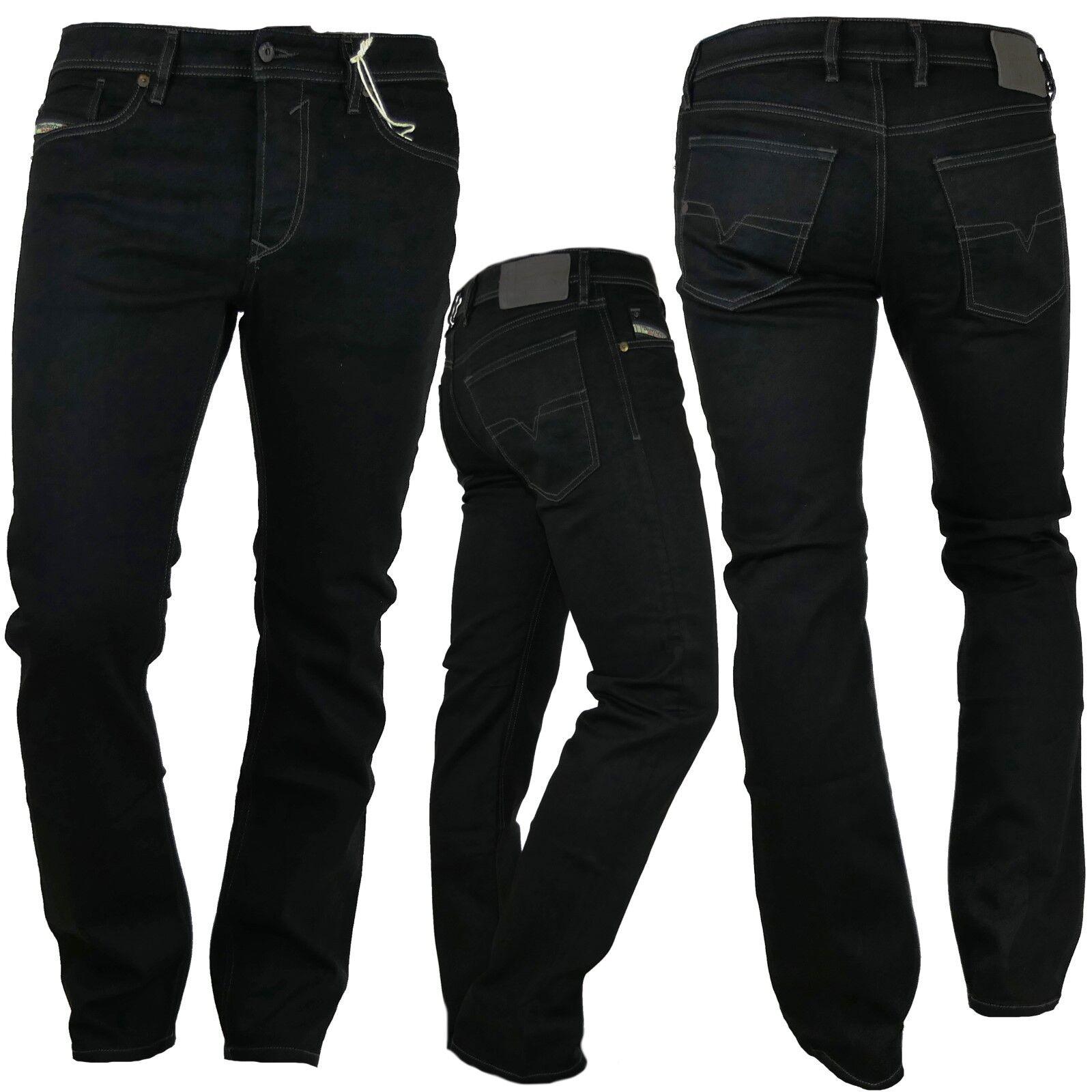 DIESEL Jeans uomo WAYKEE 0886z nero appena Straight Stretch Stretch Stretch 6eaeb0