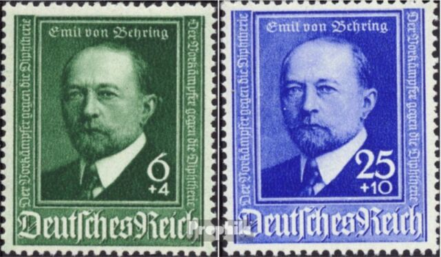 German Empire 760-761 (complete issue) unmounted mint / never hinged 1940 V.Behr