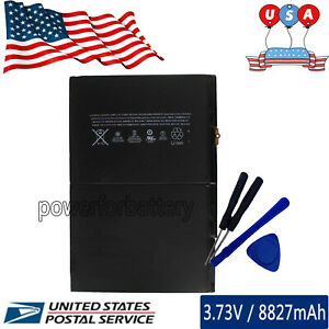 8827mAh A1484 Battery for Apple iPad Air A1474 A1475 iPad 5 5th Gen with Tools