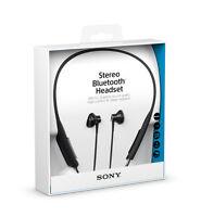 Sony Sbh70 Wireless Stereo Bluetooth Headset Earphones Nfc Water Resistant Black