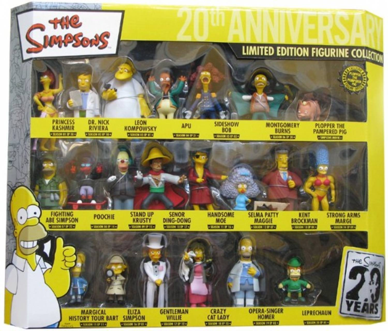 New the Simpsons Series 21 figures set Homer & Krusty Clown bart liza statue lot