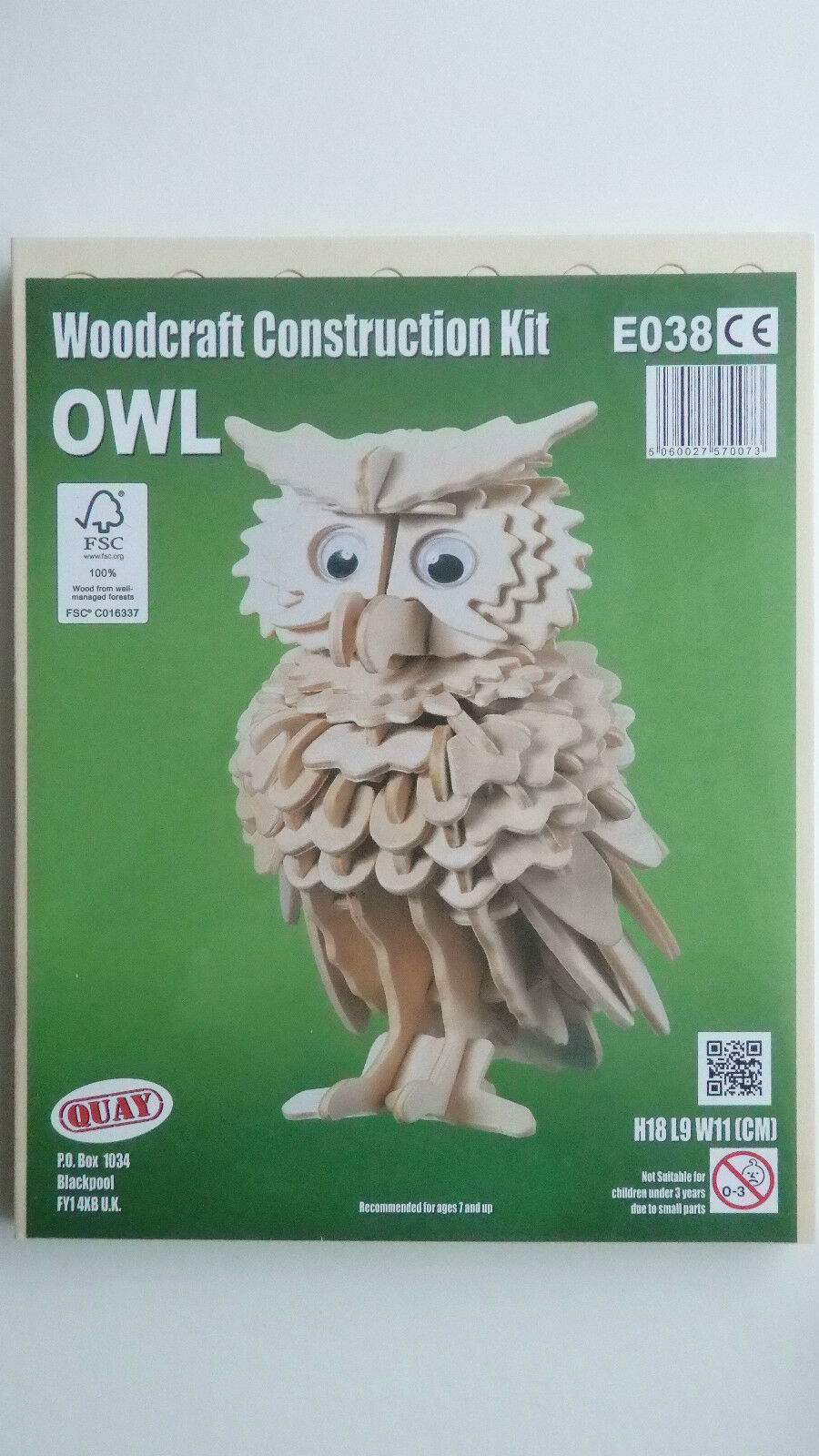 Newly 3d Wooden Owl Puzzle Jigsaw Woodcraft Toy Model Diy Construction Blocks~ Building & Construction Toys Toys & Hobbies