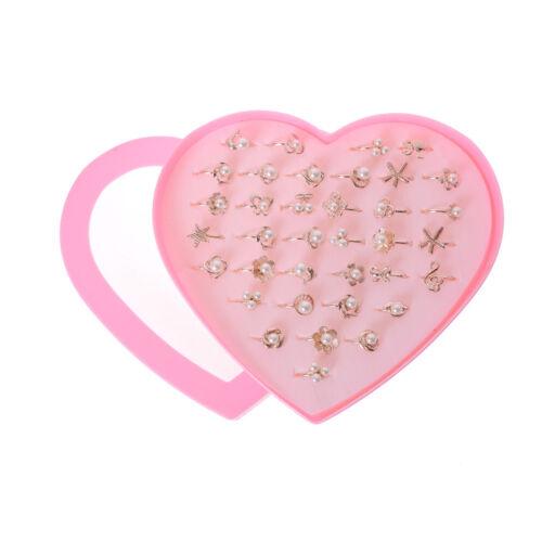 Art und Weise justierbare Kinder schellt Schmucksache Perlen Ringe für Kind ZP