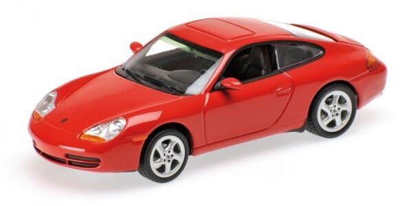 Porsche 911 Coupe' 996 Red 1998 1 43 Model MINICHAMPS