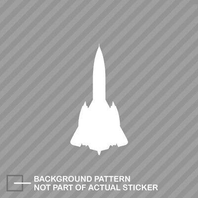 SR-71 Blackbird Sticker Die Cut Decal Vinyl skunk works