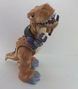 Fisher Price Dinosaur T-Rex 2011 Mattel IMAGINEXT Moves Tested Working