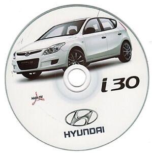 hyundai i30 manuale officina workshop manual ebay rh ebay co uk Hyundai I30 Australia Hyundai I30 Interior