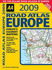 AA Road Atlas Europe: 2009 by AA Publishing (Spiral bound, 2008)