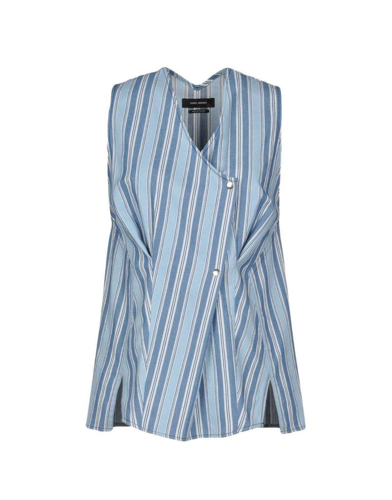 ISABEL MARANT   Siliva Wrap Cotton Shirt Brand New With Tags Net A Porter