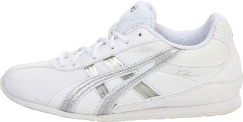 Asics femmes Cheer 6 Cheerleading chaussures Q261Y-0193 blanc