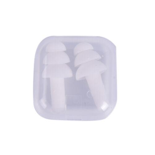 Silicone Ear Plugs Anti Noise Snore Earplugs Comfortable For Study SleeH.lu