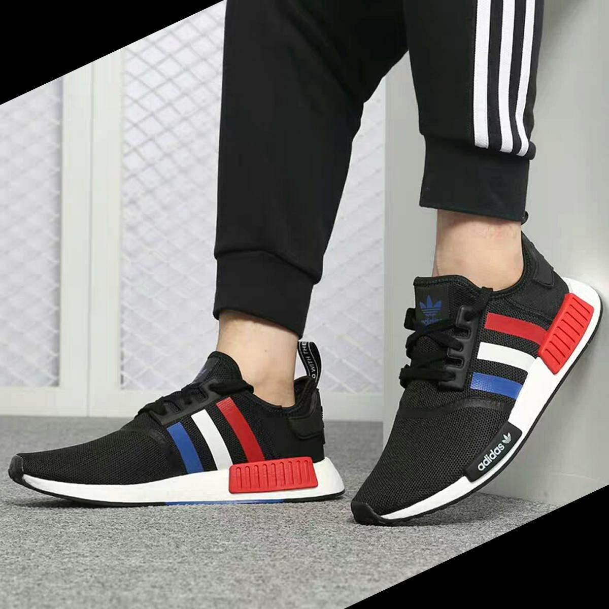 Adidas NMD R1 Tri Colour UK Size 9