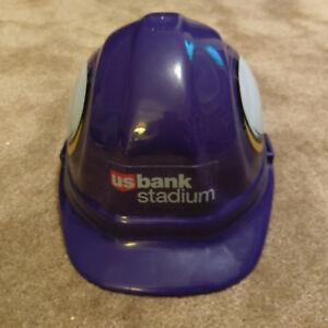 Details about MINNESOTA VIKINGS HARD HAT w/ Commemorative US Bank Stadium  Logo OSHA Certified