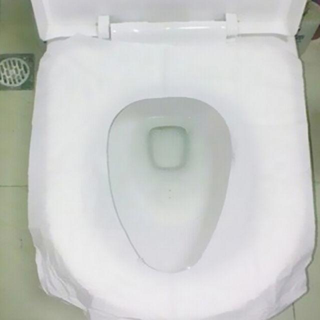 Disposable Toilet Seat Covers 10pcs Flushable Hygienic