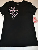 Womens Breast Cancer T-shirt Size M (8/10))l 12/14 Black