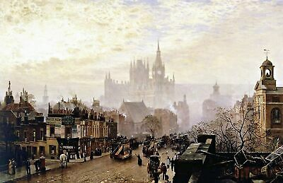 Art Victorian London England 8x10 Print 0959 Pentonville Road by John O/'Connor