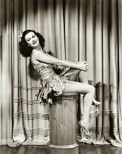 1940s JOAN BENNETT Leggy PHOTO (170-a ) | eBay
