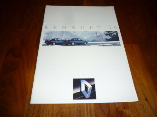 RENAULT 19 PROSPEKT 04//1992
