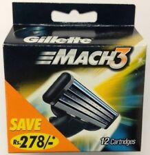 Mens Gillette MACH3 Refills Razor Blades - 24 Cartridges