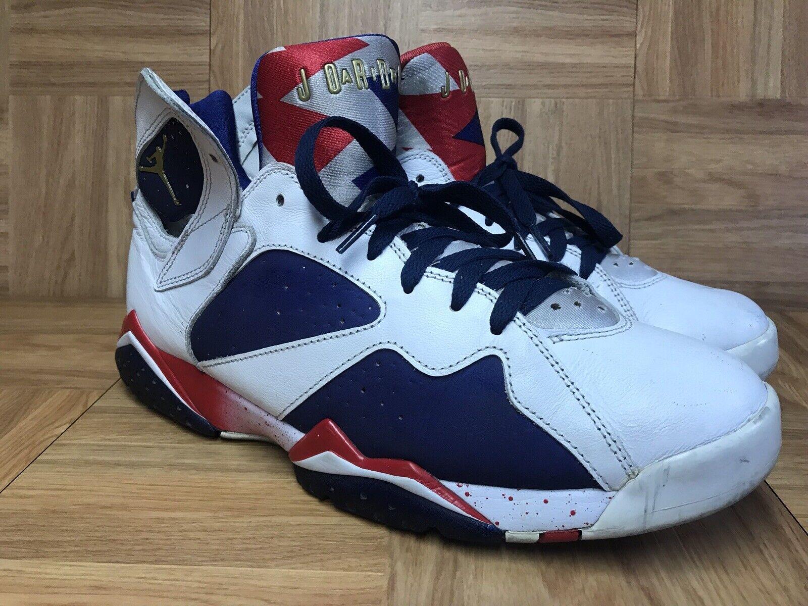 4aa53a5cbf7 RARE Nike Air Retro 7 VII Alternate Olympic gold S 11 304775-123 Tinker  Jordan ntkwqs3879-Athletic Shoes