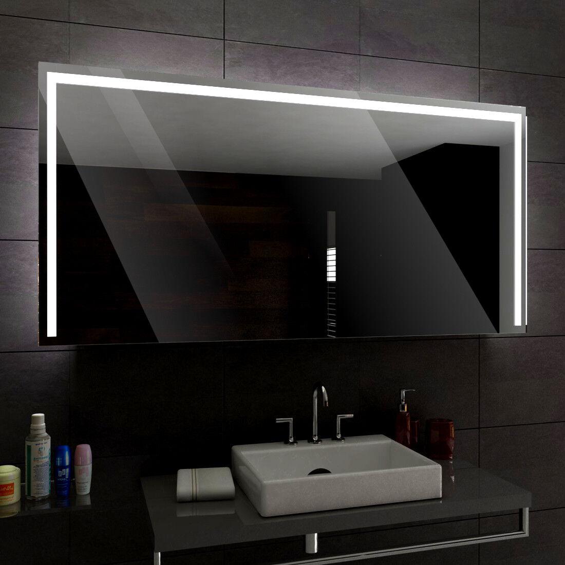 Sydney éclairé del Miroir salle de bain led toutes tailles - pour mesurer
