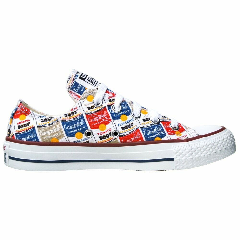 Converse Converse Converse All Star Chuck zapatos UE 39 UK 6 147053 andy warhol Limited Edition Ox 13320f