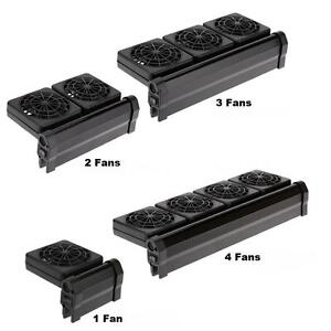 Aquarium Cooling Fan Fish Tank Cold Wind Chiller Adjustable 2 Level Wind Y8T7