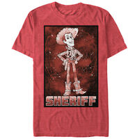 Toy Story Sheriff Woody Poster Mens Graphic T Shirt