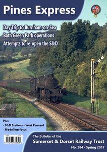Somerset and Dorset Railway Trust; S&D, Pines Express magazine 284 - Spring 2017