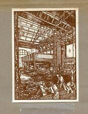 GIULIO CISARI VERZOCChI PUBBLICITA' ORIGINALE FUTURISMO VENI UD VICI 1924