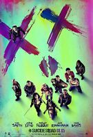 Suicide Squad Movie Poster (b) Jared Leto, Margot Robbie, Will Smith 11 X 17