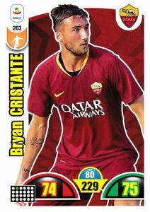 ADRENALYN CALCIATORI PANINI 2018 2019 18 19 CARD N.253 OLSEN ROMA