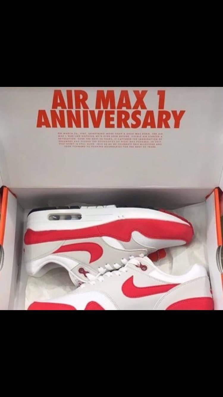 NIKE AIR MAX 1 ANNIVERSARY from japan (5606