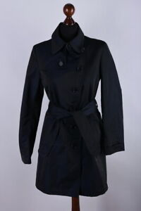 Ladies Akris Punto Classic Long Trench Coat Size M / EU38