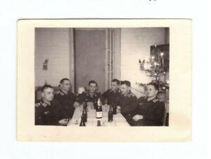 Foto-2-WK-deutsche-Soldaten-Luftwaffe-Weihnachten-1941-Wehrmacht-WW2-C36