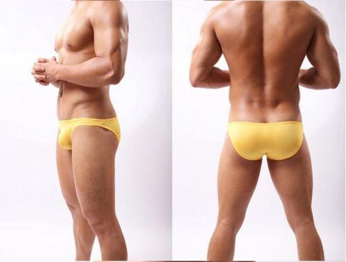 Les hommes mini Boxer slips culotte confortable améliorer bombé bikini boxeur ST