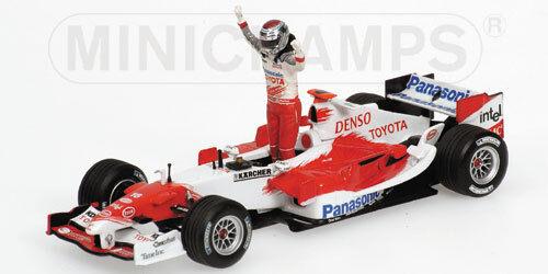 muy popular Jugueteota Panasonic TF 105 J.Trulli 1 st Podium Podium Podium Malaysian GP 2005 400050116  barato y de alta calidad