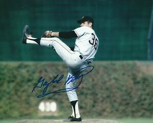 Signed-8x10-GAYLORD-PERRY-HOF-San-Francisco-Giants-Autographed-photo-COA