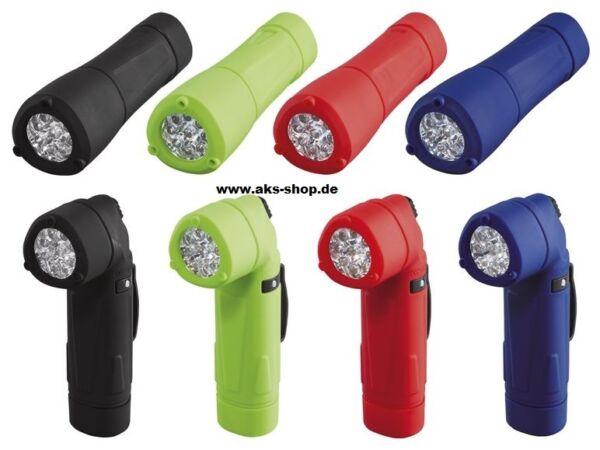 (54) Led-bacchetta Tasche Angolo Lampada Lampada Tascabile Torcia Vari Colori Nuovo-schenlampe Winkeltaschenlampe Taschenlampe Verschiedene Farben Neu
