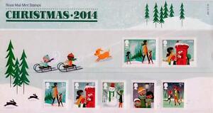 GB 2014 CHRISTMAS PRESENTATION PACK No 504 MINT STAMP SET SG3650-56 #504