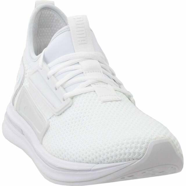 new concept 0eae1 73a75 Puma Ignite Limitless Street Runner Casual Sneakers - White - Mens