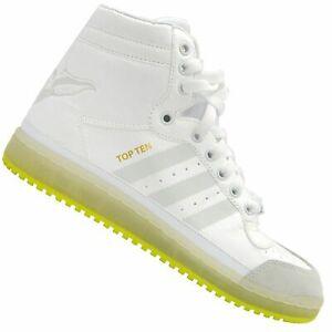 Details about Adidas Top Ten HI Yoda J # B35565 Star Wars White Green Big Kids SZ 4 7 !