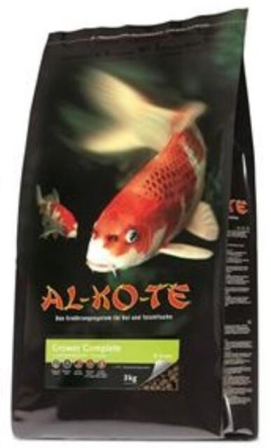 AL-KO-TE Grower Complete 6mm 3kg Alleinfuttermittel für Koi und Zierfische