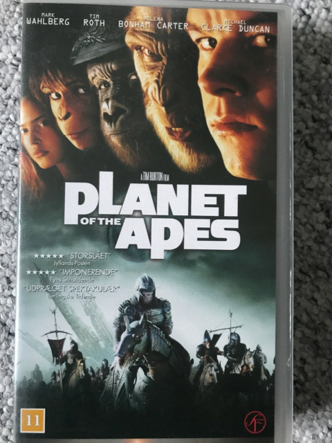 Science Fiction, Planet of the apes -Dansk version, Special…