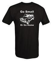 Tshirt -mini Cooper Go Small Or Go Home