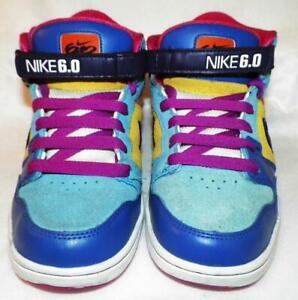 375283f74 Nike Air 6.0 Morgan High-Top 318886-451 Womens Size 7 Retro 2006 ...
